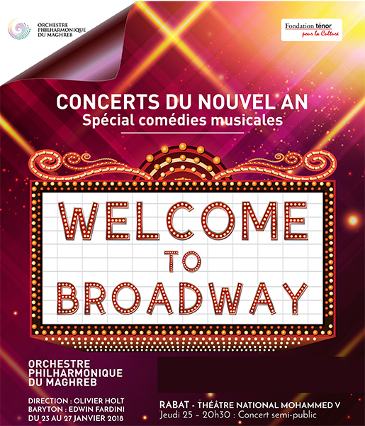 Welcome to Broadway CONCERTS DU NOUVEL AN